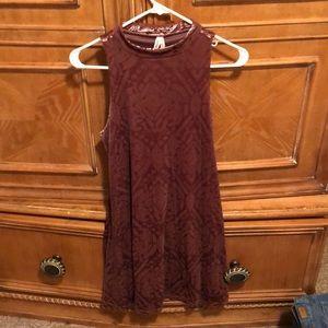 Mudd velvet designed dress